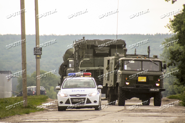 Air defense drill involving S-300 Favorite surface-to-air missile system unit
