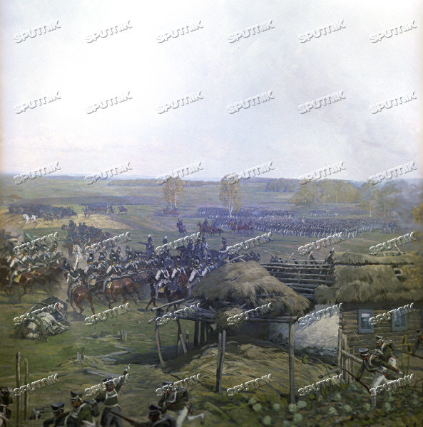 Panorama of the Battle of Borodino  Detail | Sputnik Images media