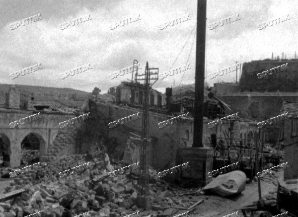 Sevastopol devastated by German Nazis