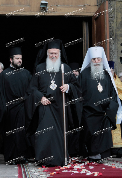 Patriarch Bartholomew of Constantinople visits St. Petersburg