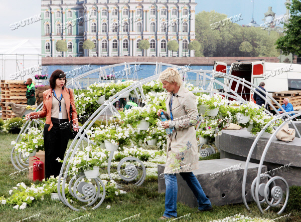 Preparation for St. Petersburg International Economic Forum