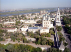 Astrakhan church landscape