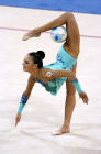Champion gymnast Alina Kabayeva gold-winner