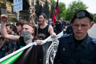 Anarchists, anti-globalists rally in Kiev