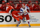 Ice Hockey World Championships. Denmark vs. Russia