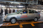 Commemorative 27-millionth car comes off AvtoVAZ assembly line