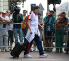 Russia's football team leaves Euro Cup