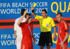 Beach Soccer World Cup Qualifier. Final match