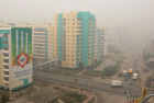 Yakutsk shrouded in thick smog from forest fires