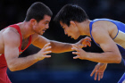 2012 Olympics. Greco-Roman wrestling. Day one