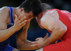 Olympics 2012 Greco-Roman wrestling. Day One
