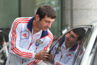 Training camp of Russian nationalm football team
