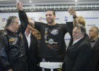 Official weigh-in of Vitali Klitschko and Manuel Charr