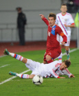 UEFA U-21 Championship qualification. Russia vs. Czech Republic