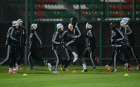 Football. FC Anzhi holds training session