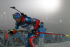 Biathlon 4th stage of World Cup. Men's relay