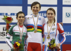 UCI Track Cycling World Championships. Day three