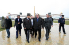 French actor Gérard Depardieu visits Grozny