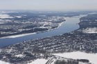EMERCOM staff members fly over Yaroslavl region