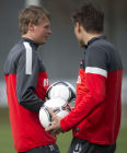 Football. FC Spartak holds open training session