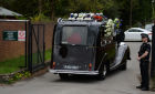 Funeral of Russian oligarch Boris Berezovsky in Surrey, England