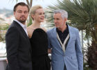Photo call for actors in film The Great Gatsby in Cannes