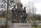 Monument to frontiersmen opened in Murmansk