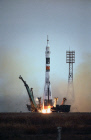 Soyuz TMA-2,  spaceship, take-off