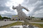 Monument to World Cup 2018 unveiled in Yekaterinburg