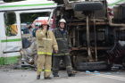 Road accident in Moscow's newly incorporated area