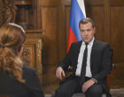 Dmitry Medvedev gives interview to Rustavi 2 TV company