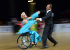 Continents Cup wheelchair dance sport competition