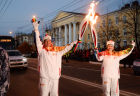 Olympic Torch Relay. Kaluga