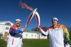 Olympic torch relay in Tula Region