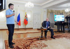 Vladimir Putin meets with Internet Startups Project participants