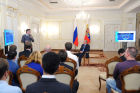 Vladimir Putin meets with Internet Startup Project participants