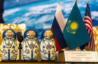 Soyuz TMA-09M crew gives news conference