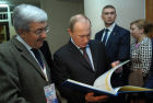 Vladimir Putin visits North-Western Federal District