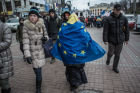 Riots in Ukraine after government refusal to join EU