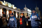 Olympic flame arrives in Novokuznetsk