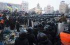 Internal security troops storm protesters' camp on Maidan Square