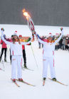 Olympic torch relay in Saransk