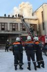 Fire breaks out in Nevsky district of St. Petersburg
