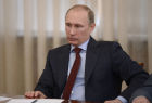Vladimir Putin meets with senior members of the Federation Council