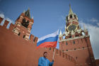 May Day trade unions' demonstration on Red Square