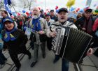 May Day processions in Russian regions