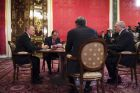 Vladimir Putin's informal meeting with CIS leaders