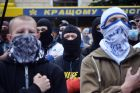 Unknown people obstruct religious procession against war and Ukraine's integration into EU
