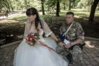 First marriage registered in Novorossiya (New Russia)