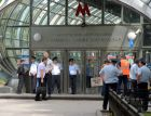 Metro railcar derailed between Park Pobedy -- Slavyansky Boulevard stations